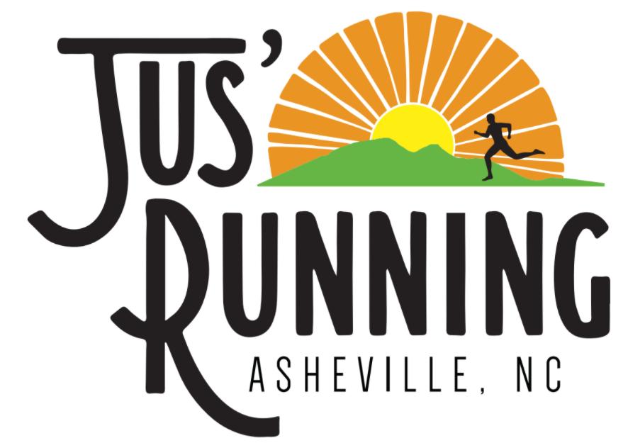 Jus' Running Logo